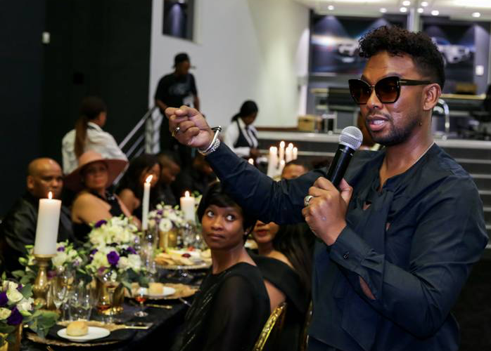 David Tlale Dines In Luxury In Celebration Of 15 Years Of His Brand